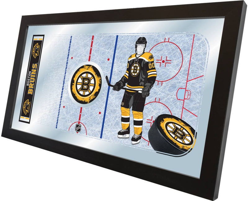Boston Bruins NHL Rink Mirror (side view)