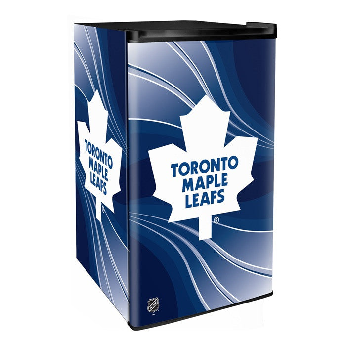 Toronto Maple Leafs NHL Primary Counter Height Refrigerator - Sports Fans Plus  - 1