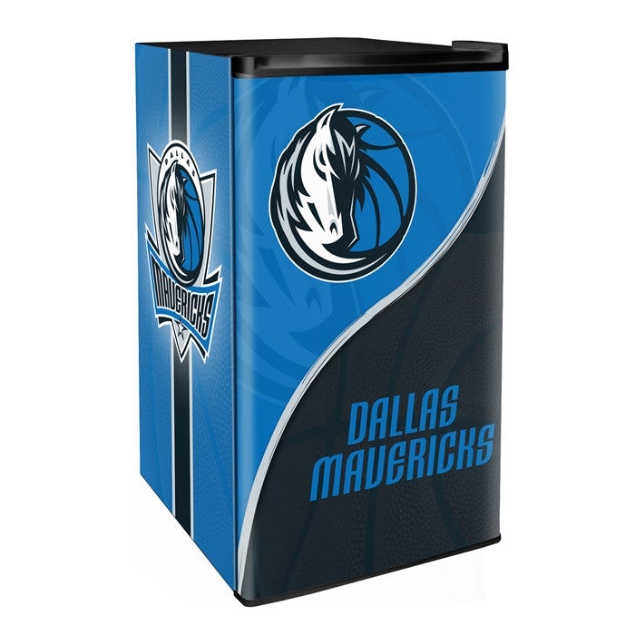 Dallas Mavericks NBA Primary Counter Height Refrigerator - Sports Fans Plus  - 1