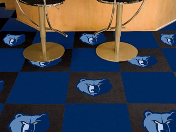 Memphis Grizzlies NBA Carpet Tiles - Sports Fans Plus  - 1