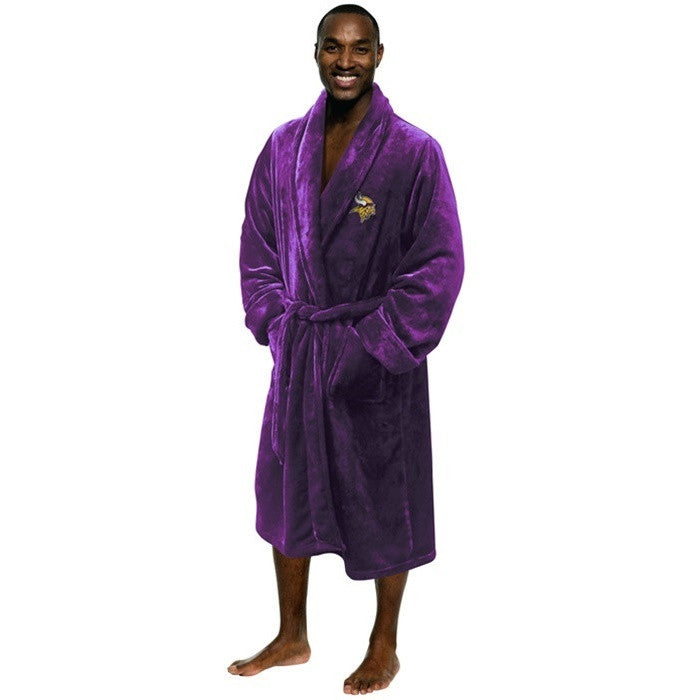 Minnesota Vikings NFL Bath Robe