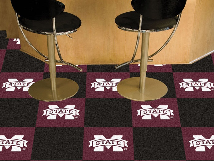 Mississippi State Bulldogs Carpet Tiles