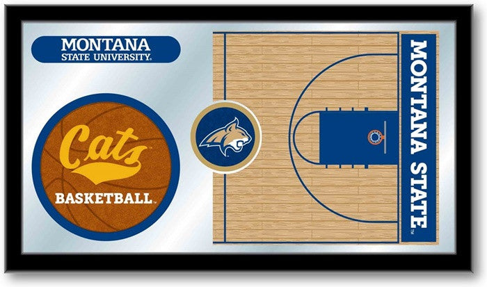 Montana State Bobcats Basketball Team Sports Mirror