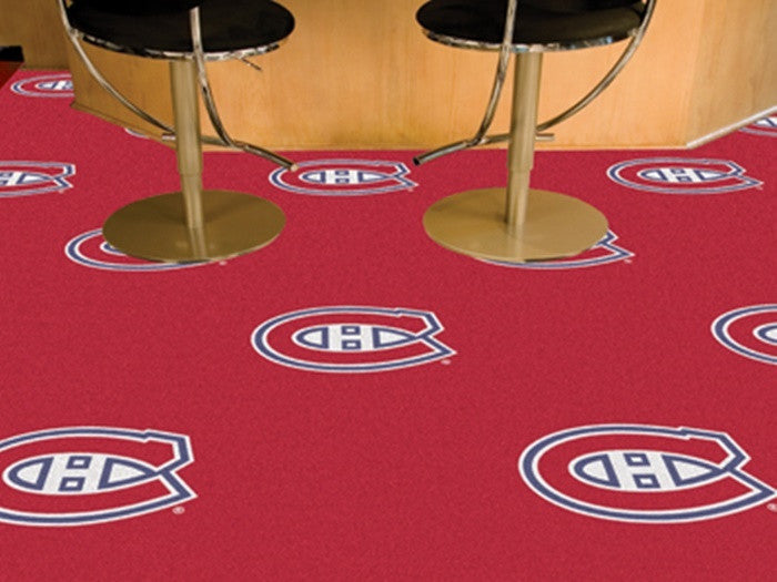 Montreal Canadiens NHL Carpet Tiles - Sports Fans Plus  - 1