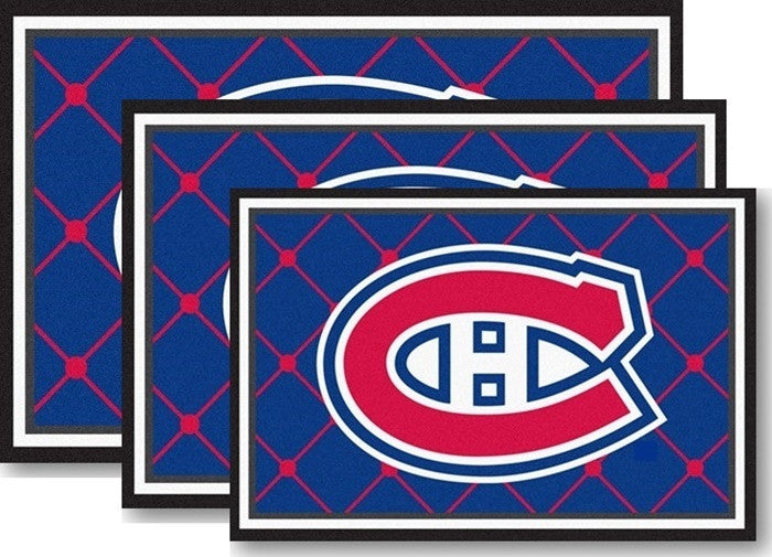 Montreal Canadiens NHL Area Rugs - Sports Fans Plus