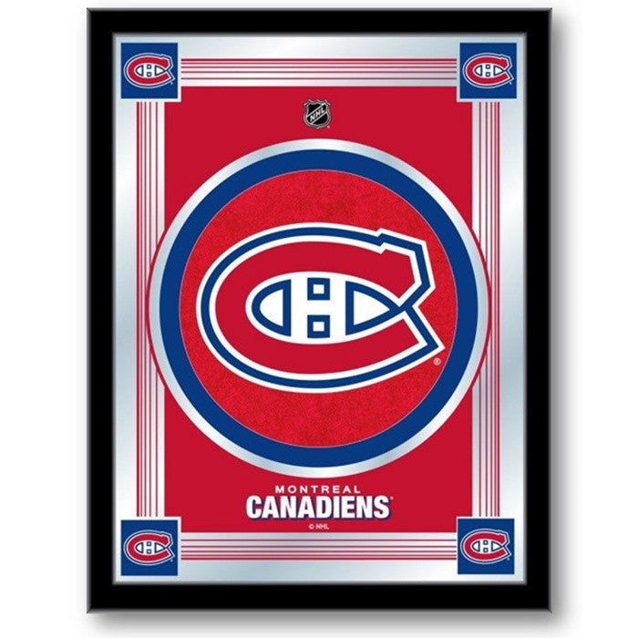 Montreal Canadiens NHL Logo Mirror