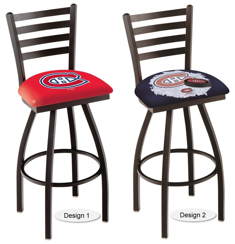 Montreal Canadiens NHL Ladder Back Bar Stool
