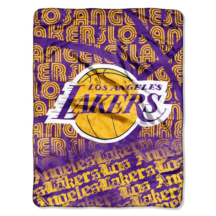 Los Angeles Lakers NBA Redux Raschel Throw