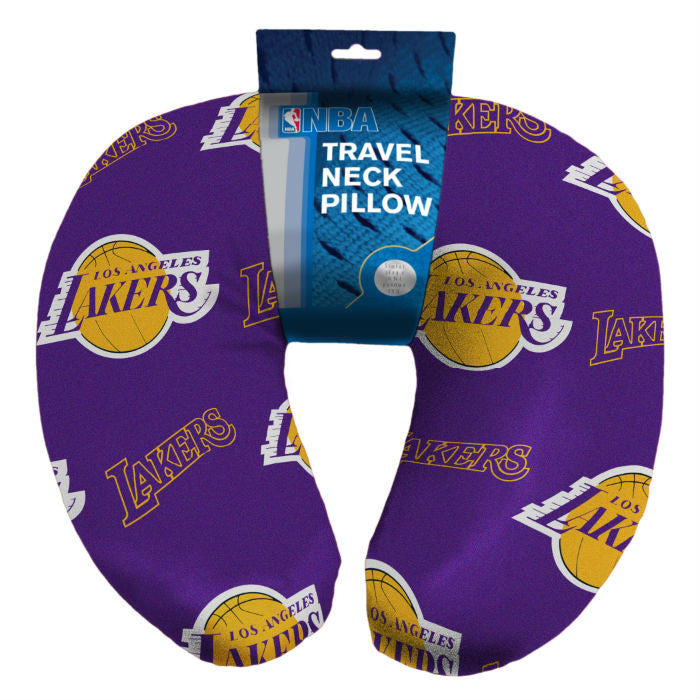 Los Angeles Lakers NBA Beaded Neck Pillow - Sports Fans Plus