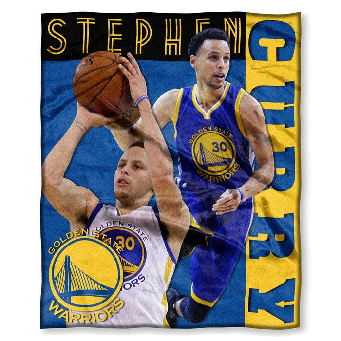 Golden State Warriors Stephen Curry NBA Players HD Silk Touch Throw