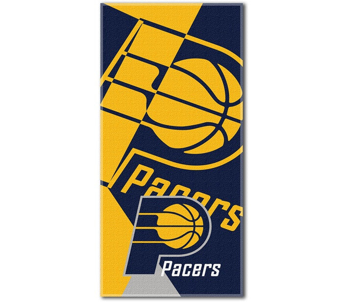 Indiana Pacers NBA Puzzle Beach Towel