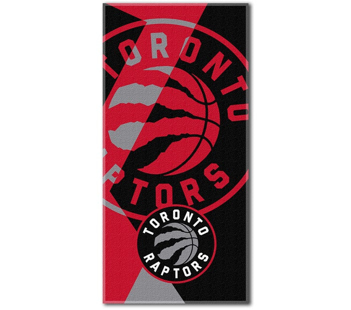 Toronto Raptors NBA Puzzle Beach Towel