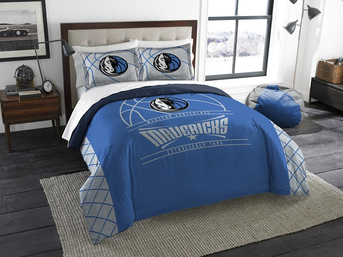 Dallas Mavericks NBA Reverse Slam Full-Queen Comforter Set