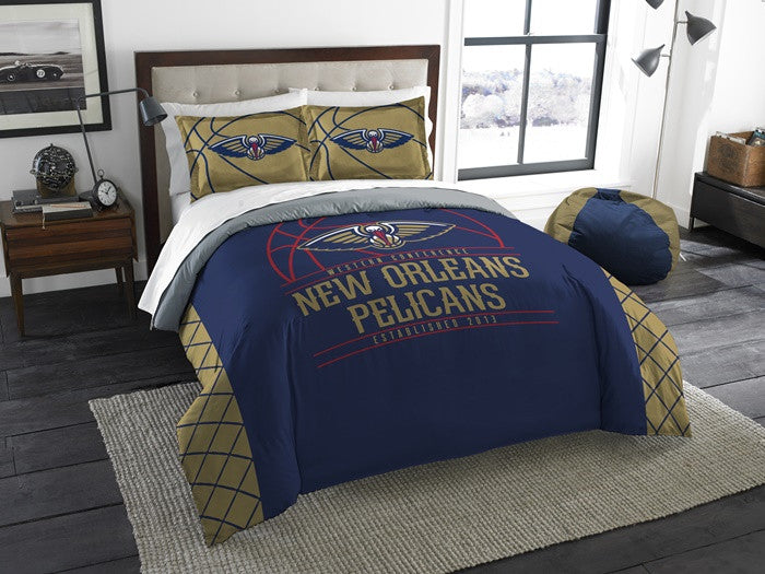 New Orleans Pelicans NBA Reverse Slam Full-Queen Comforter Set