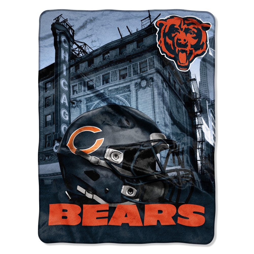 Chicago Bears NFL Heritage Silk Touch Throw