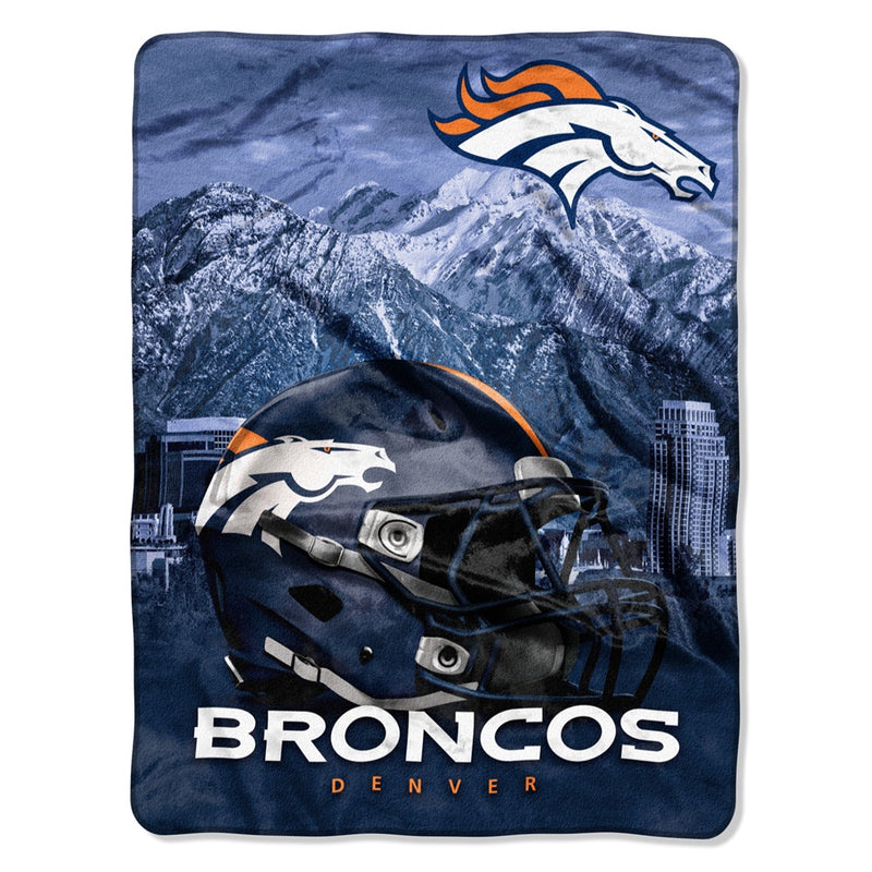Denver Broncos NFL Heritage Silk Touch Throw