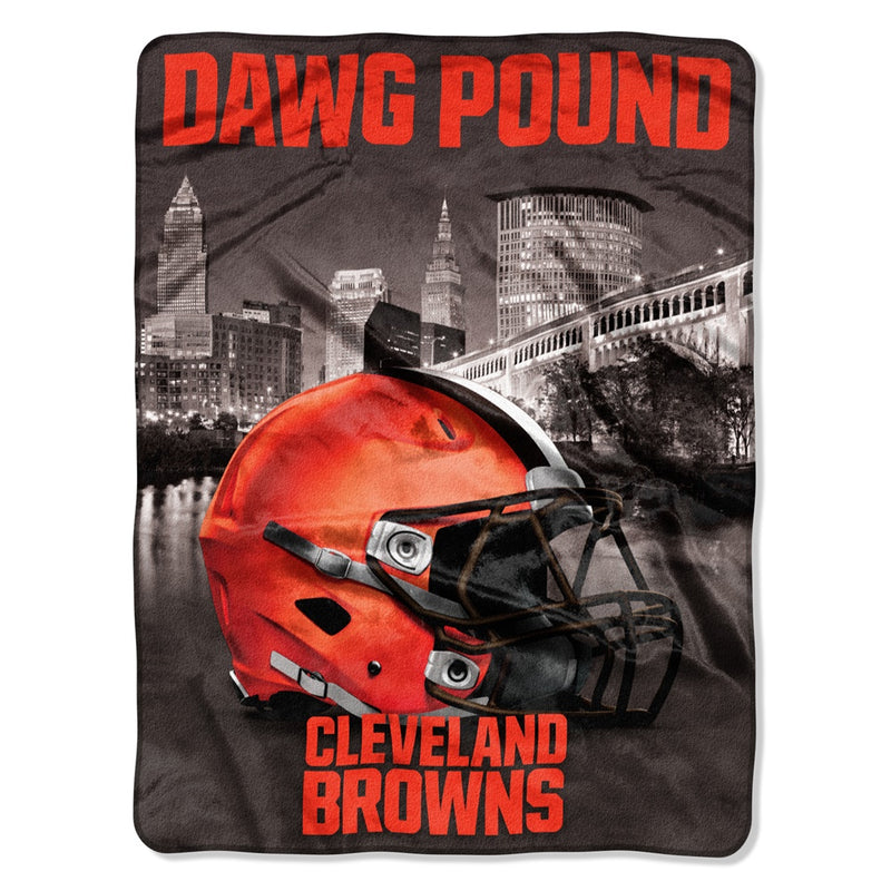 Cleveland Browns NFL Heritage Silk Touch Throw