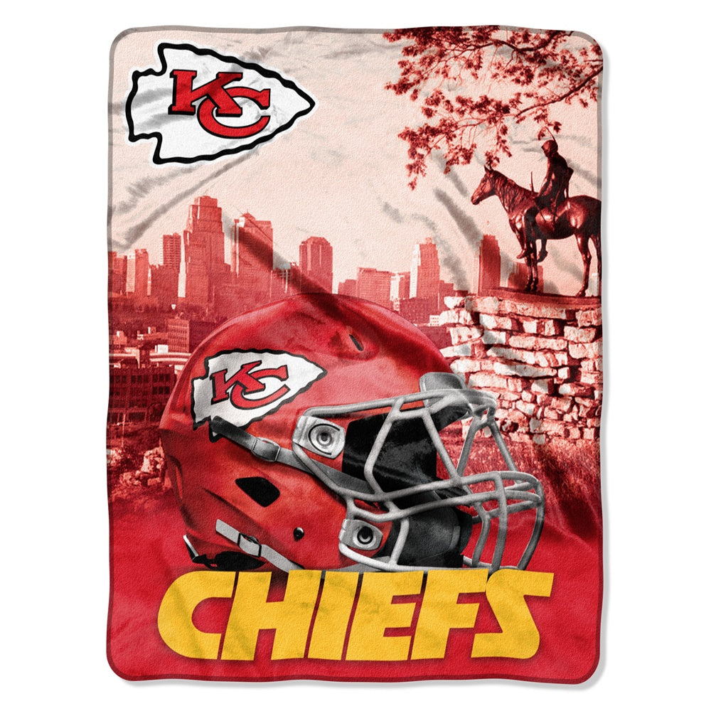 Kansas City Chiefs NFL Heritage Silk Touch Throw