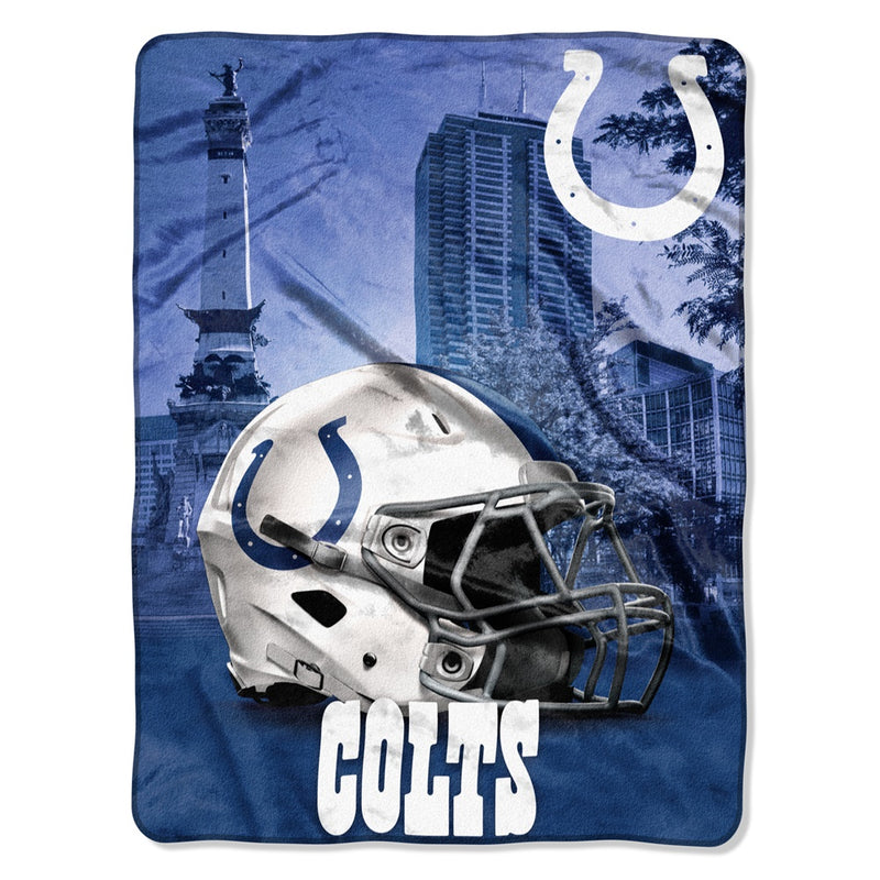Indianapolis Colts NFL Heritage Silk Touch Throw