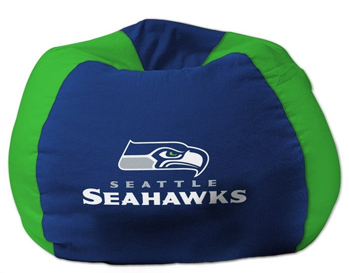Seattle Seahawks NFL Bean Bag Chair - Sports Fans Plus