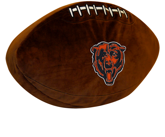 Chicago Bears NFL 3D Pillow - Sports Fans Plus