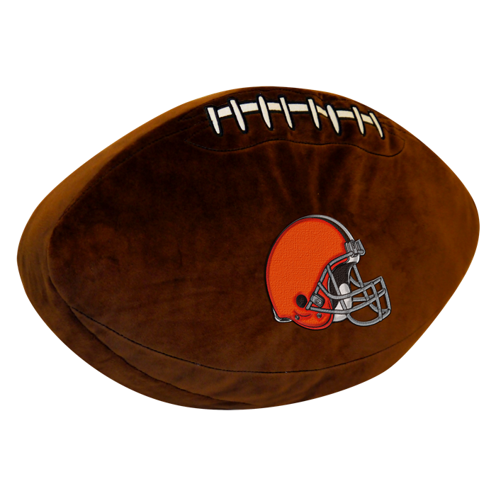 Cleveland Browns NFL 3D Pillow - Sports Fans Plus