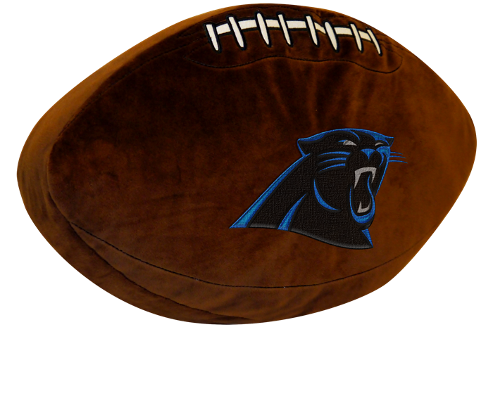Carolina Panthers NFL 3D Pillow - Sports Fans Plus