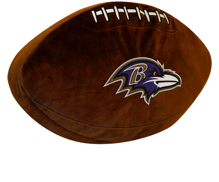 Baltimore Ravens NFL 3D Pillow - Sports Fans Plus