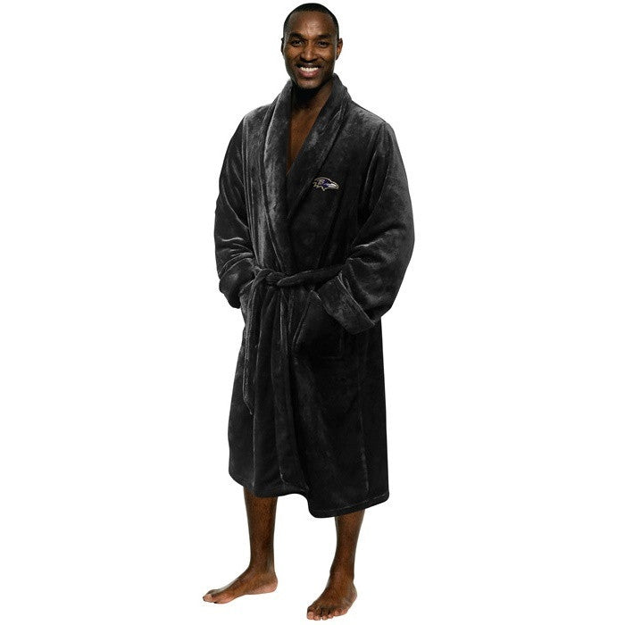 Baltimore Ravens NFL Bath Robe