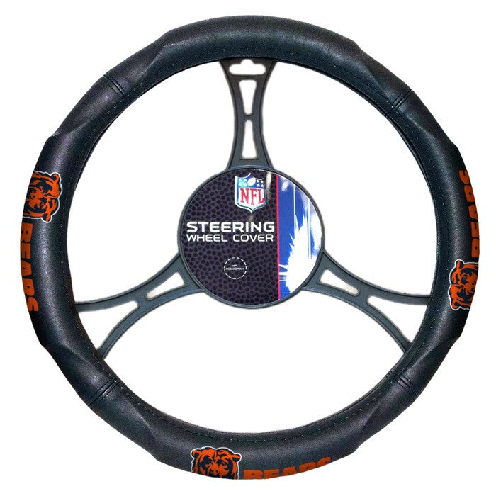 Chicago Bears NFL Steering Wheel Cover - Sports Fans Plus