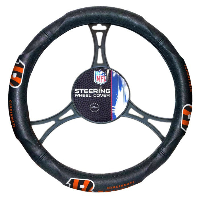 Cincinnati Bengals NFL Steering Wheel Cover - Sports Fans Plus