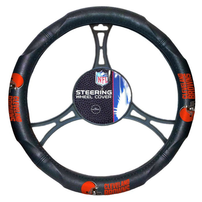 Cleveland Browns NFL Steering Wheel Cover - Sports Fans Plus