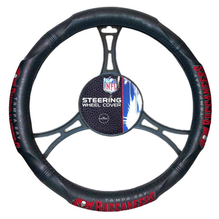 Tampa Bay Buccaneers NFL Steering Wheel Cover - Sports Fans Plus