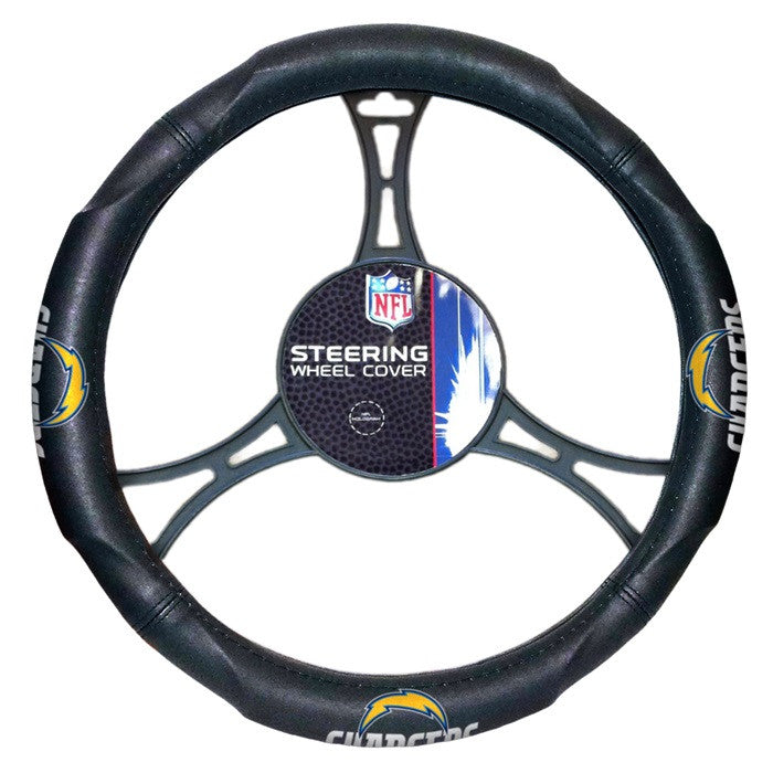 Los Angeles Chargers NFL Steering Wheel Cover - Sports Fans Plus