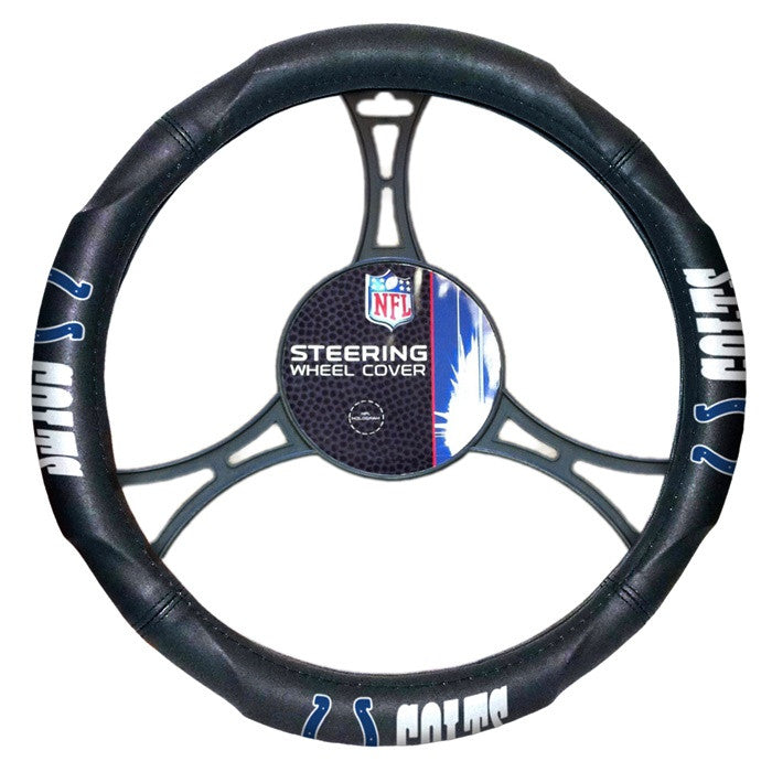 Indianapolis Colts NFL Steering Wheel Cover - Sports Fans Plus