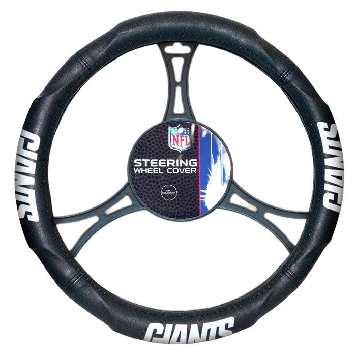 New York Giants NFL Steering Wheel Cover - Sports Fans Plus
