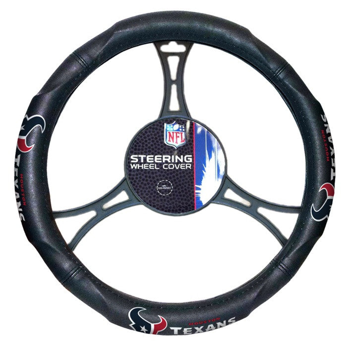 Houston Texans NFL Steering Wheel Cover