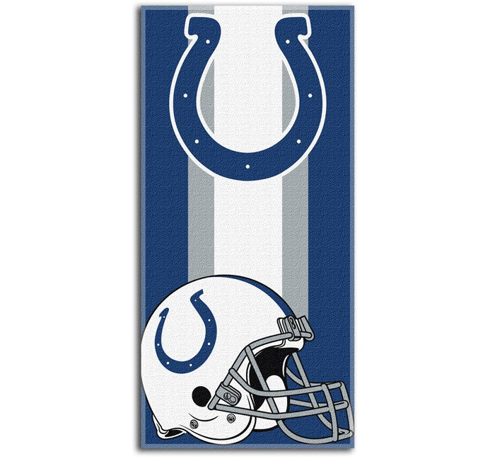 Indianapolis Colts NFL Zone Read Beach Towel