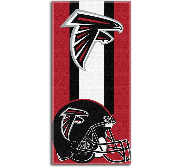 Atlanta Falcons NFL Zone Read Beach Towel