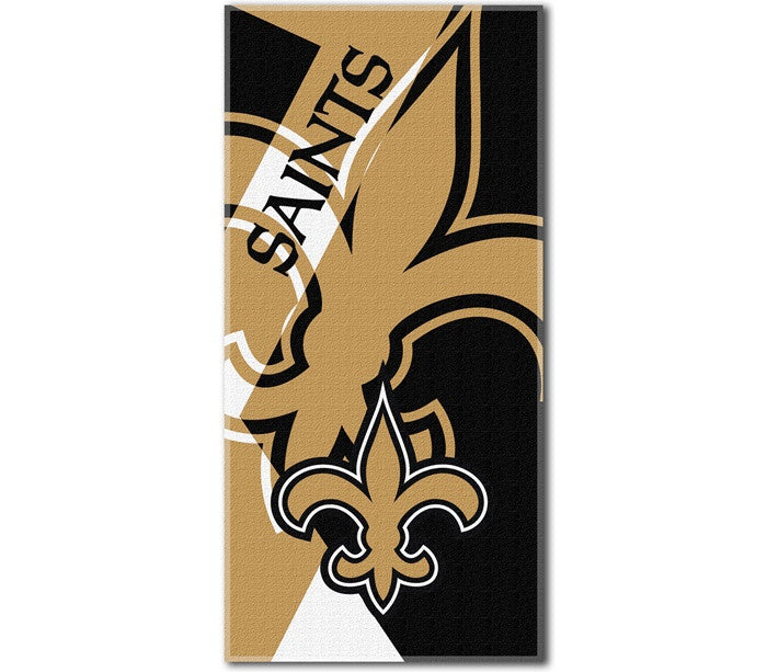 New Orleans Saints NFL Puzzle Beach Towel