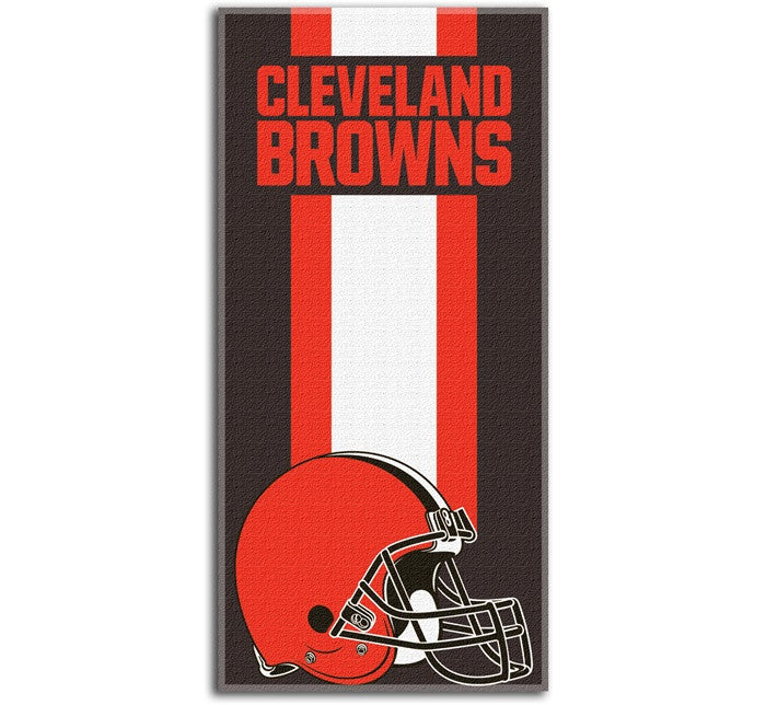Cleveland Browns NFL Zone Read Beach Towel