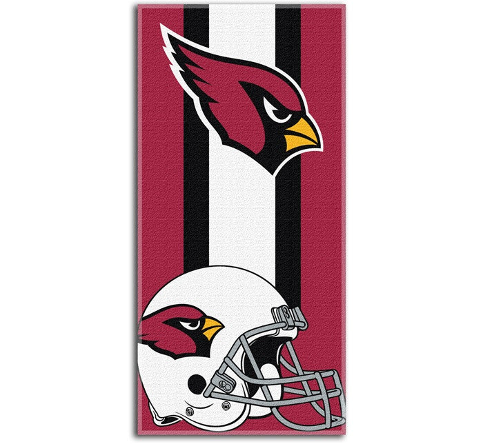 Arizona Cardinals NFL Zone Read Beach Towel
