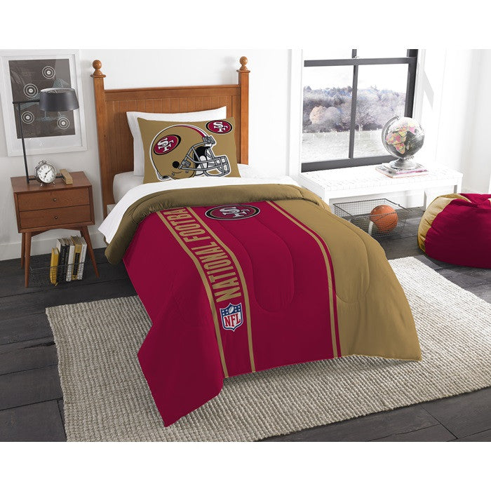 San Francisco 49ers NFL Twin Comforter Set