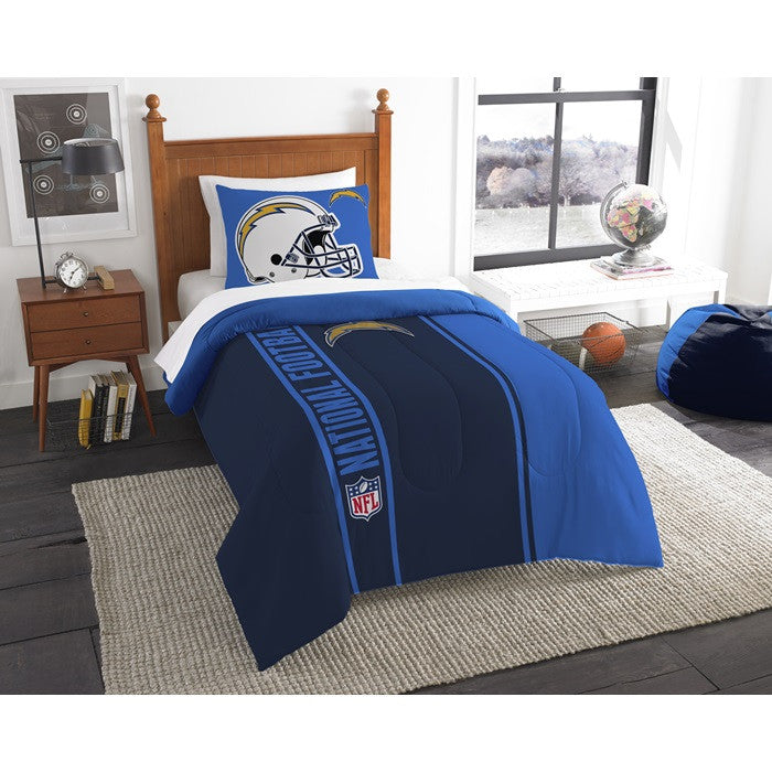 Los Angeles Chargers NFL Twin Comforter Set