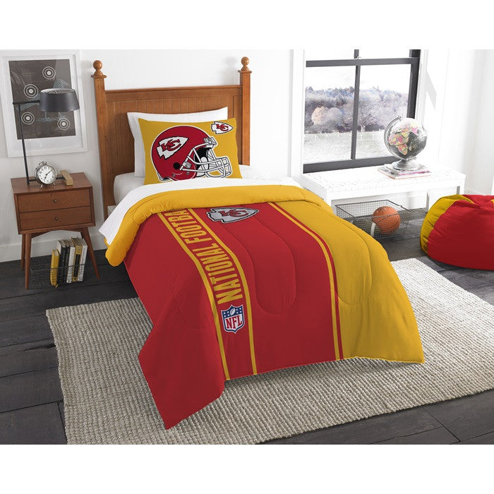 Kansas City Chiefs NFL Twin Comforter Set