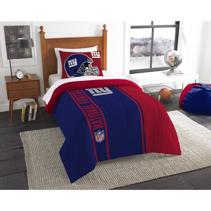 New York Giants NFL Twin Comforter Set