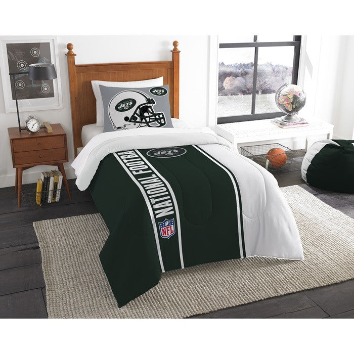 New York Jets NFL Twin Comforter Set