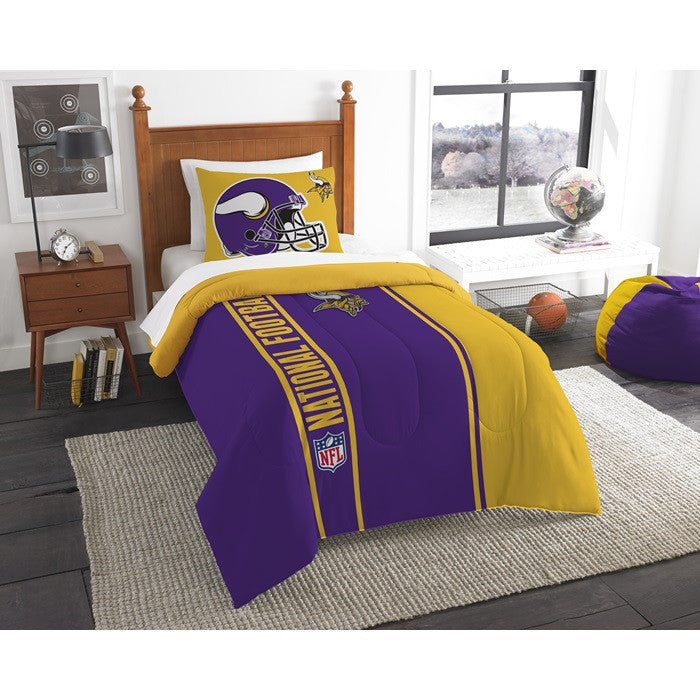 Minnesota Vikings NFL Twin Comforter Set