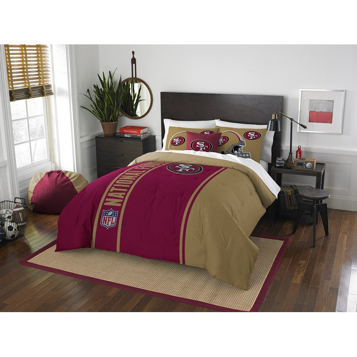 San Francisco 49ers NFL Full Comforter Set