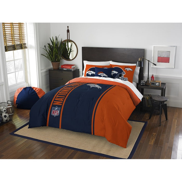 Denver Broncos NFL Full Comforter Set